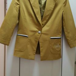 Jacket sacou din cardigan