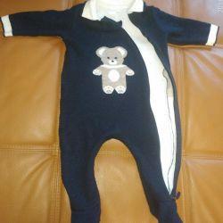 Woolen overalls for children