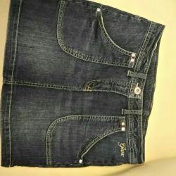 Юбочка джинсовая Geox