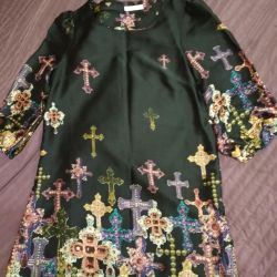 Özel tasarım elbise, ipek