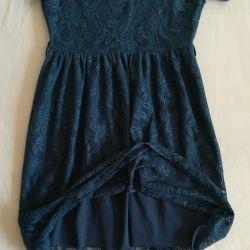 Blue lace dress, p-44 (46)
