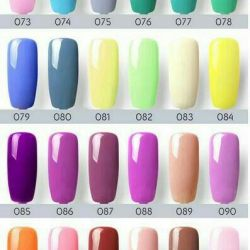 Gel varnish canni from 73 to 96