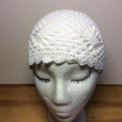 Детская аккуратная шапочка, арт 059, размер 53-55