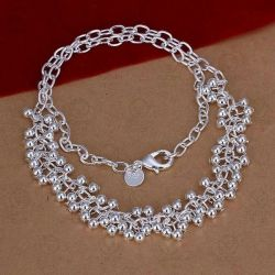 Necklace and Bracelet (925 Silver)