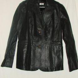 Leather jacket b.p.c.
