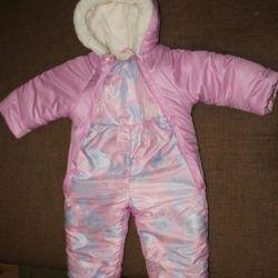 Winter overalls for girls