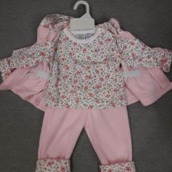 NEW 3 in 1 suit for a girl (pink)
