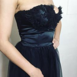 Dress new evening embroidery