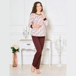 Set trouser for pregnant women and the feeding mothers.