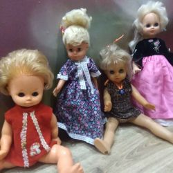 Dolls GDR and the USSR, retro, vintage