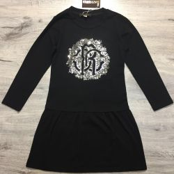 Dress on the girl Roberto cavalli