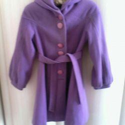 Пальто для девочки 152-156