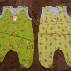 New ones. Romper suit and blouse p. 62