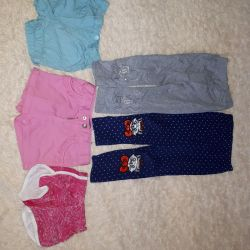 Package shorts and leggings