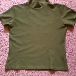 bluza 36-38 р., mâna a doua, întindere țesătură, lungime 49 cm