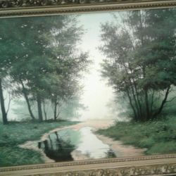 Pictura pe ulei pe panza 800 × 600
