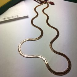Gold Chain 55 cm, new, 585