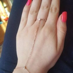 Ασημένιο δαχτυλίδι βραχιόλι 925