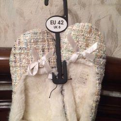 New Slippers female Kiabi 37