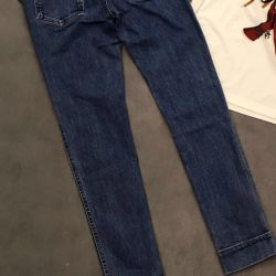 Louis Vuitton🌷New jeans with brand logo, ori