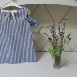 Children's tunic with open shoulders (new)