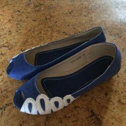 Παπούτσια μπαλέτου 36-36,5r.