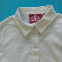 Blouse for the girl growth 122