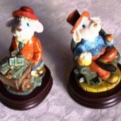 Sheep, figurines, figurines