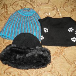 Winter hats (Lot of 3 hats)