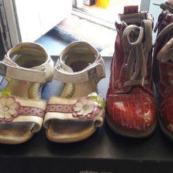 Σανδάλια και μπότες