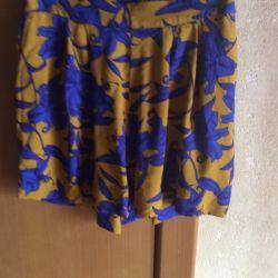 Νέα φούστα πορτοφολάκι από την Πολωνία, 100% μετάξι, μοντέλο 2018