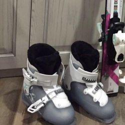 Children's ski boots Salomon solution 33-34