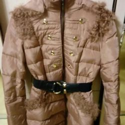 Down jacket winter down / feather