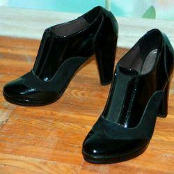 Chic cizme de pantofi de brevet 36 Dimensiune