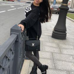 New Louis Vuitton Soft Leather Bag