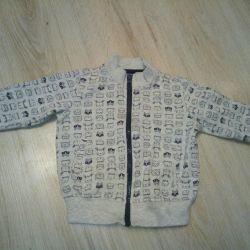 Μπλουζάκι τζιν Gloria p. 6-12 μήνες.