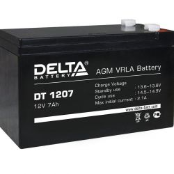 Traction battery Delta DT 1207 12 V 7 Ah