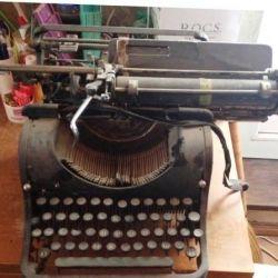 The typewriter Olympia