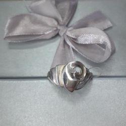 Ring Snail silver 925 sample.