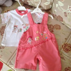 Suit summer for the girl 1 - 1.5 years