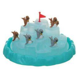 Balancing game Seals on iceberg.