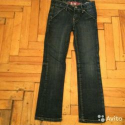 HM Slim Girl Jeans 128 Height