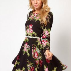 Платье Love Floral Skater Dress (оригинал)