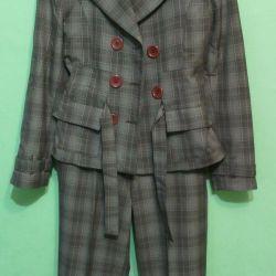 Takım elbise pantolonu.zhen.r.42-44 yapımları.