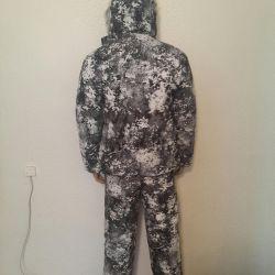 Kumuflyazhny kış kıyafeti
