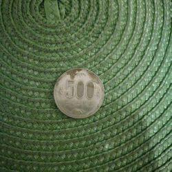 Coin 500 yen 1989 - Japan