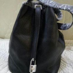 Bag genuine leather new