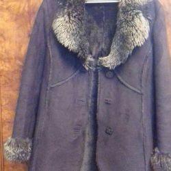 New sheepskin coat