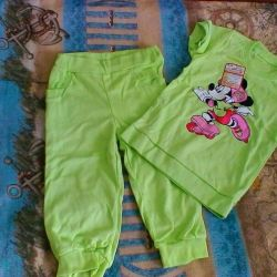 Set (Tişört ve pantolon)