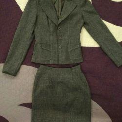 Three-piece suit new